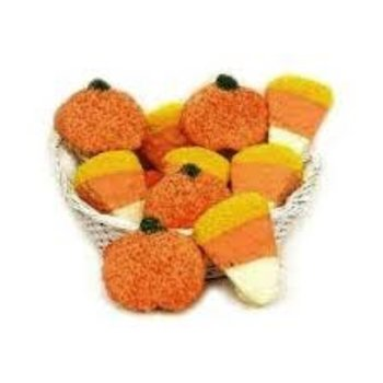 Candy Corn Crispy Treat - 3 Oz
