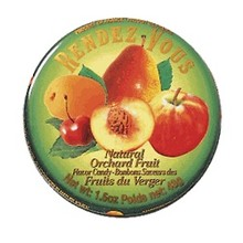 Rendez Vous Orchard Fruit Candy -1.5 OZ tin