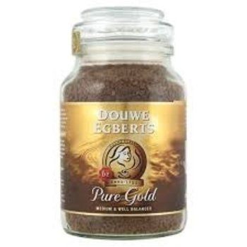Douwe Egberts Pure gold instant coffee 7 oz jar