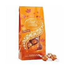 Lindt Pumpkin Spice Milk Chocolate Lindor Balls - 5.1 Oz