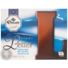 Droste Large L Milk Chocolate Letter - 4.7 OZ