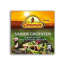 Conimex Sajoer Groenten mild spices for vegetable dish 3.3 oz