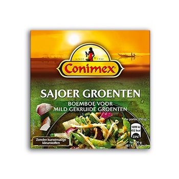 Conimex ild spices for vegetable dish 3.3 oz dated April 18