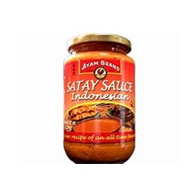 Ayam Indonesian Hot Satey Sauce 12 Oz