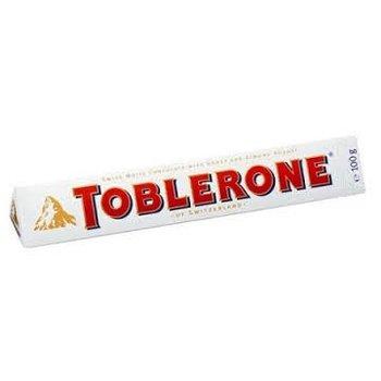 Toblerone Tobler White Chocolate Bar 3.5 Oz