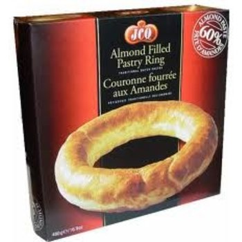 The Old Mill Banket Butter Almond Ring 1 lb Were $10.99