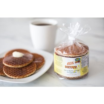 Double Dutch Stroopwafels with 100% Butter - 8 count