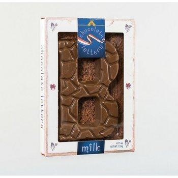 Dutch Letters B Milk Chocolate Letter 4.7oz
