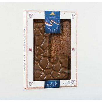 Dutch Letters L Milk Chocolate Letter 4.7oz