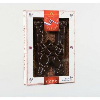 Dutch Letters W Dark Chocolate Letter 4.7oz