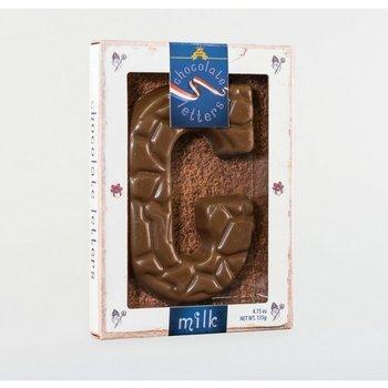 Dutch Letters G Milk Chocolate Letter 4.7oz