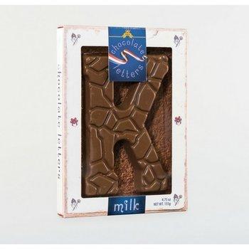 Dutch Letters K Milk Chocolate Letter 4.7oz