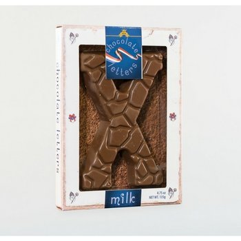 Dutch Letters X Milk Chocolate Letter 4.7oz