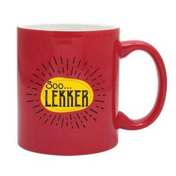 PGM Designs Soo Lekker Coffee Mug - Red
