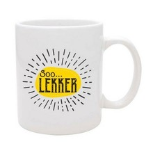 PGM Designs Soo Lekker Coffee Mug - White
