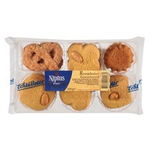 Nipius Assorted Butter Cookies - 7 Oz