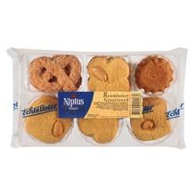 Nipius Assorted Butter Cookies - 7 Oz