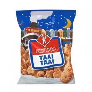 Bolletje Mini Taai Taai Shapes - 12 Oz Bag