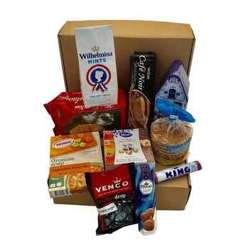 Gift Basket Dutch Favorites Gift Box (some items my be different than pictured)