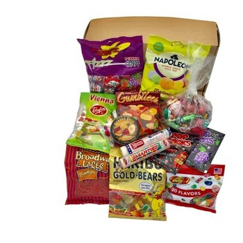 Gift Basket Snoepjes doos - Sweets & Treats Candy Gift Box