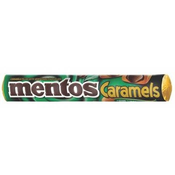 Van Melle Caramel and chocolate Mentos 1.3 oz roll