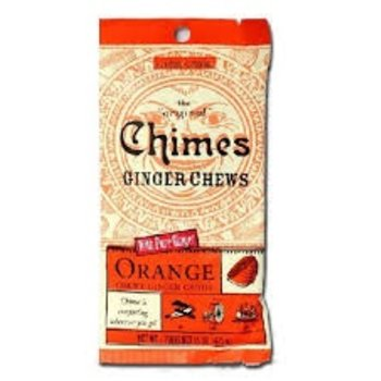 Chimes Ornage Ginger  Chews - 1.5 OZ