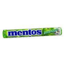 Van Melle Green Apple Mentos 1.3 oz roll