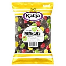 Katja Mixed Kokindjes licorice and fruit 17 oz bag