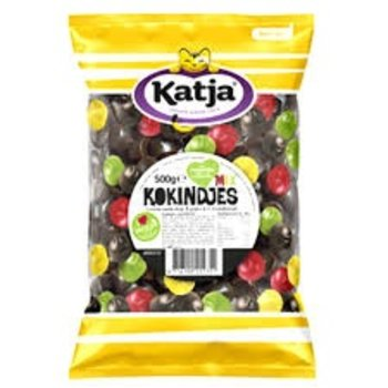Katja Mixed Kokindjes licorice and fruit 17 oz bag Reg $5.99