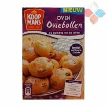 Koopmans Oliebolen Oven mix - no deep fry 9 oz box