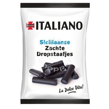 Italiano Napolitan licorice sticks 5.2 oz bag