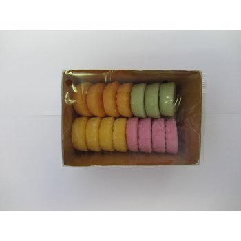 Eljo Fondant Fruit - 4 Colors 7 oz tray