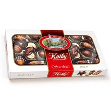 Kathy Belgium Chocolate Seashells 6.5OZ -  Box