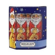Riegelein Solid Chocolate St Nick 4.4 oz-10/box