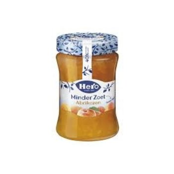 Hero Less Sugar Apricot Jam - 10.4 Oz Jar