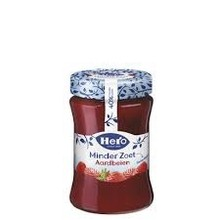 Hero Less Sugar Strawberry Jam - 10.4 oz Jar