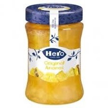 Hero Original Pineapple Jam - 11.9 oz Jar