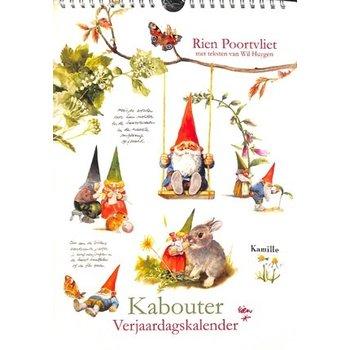 Rien Poortvliet Gnomes Birthday Calendar