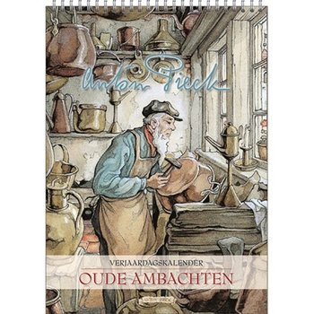 Anton Pieck Trades Birthday Calendar