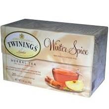 Twinings Winter Spice Tea 20 ct box