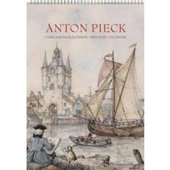 Anton Pieck Old Harbor Birthday Calendar