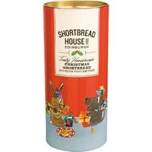 House of Edinburgh Holiday Shortbread Canister - 7 Oz