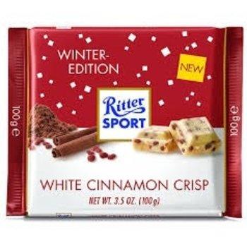 Ritter White Cinnamon Crisp - 3.5 Oz bar