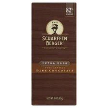 Scharffenberger Extra Dark 82% bar - 3 Oz