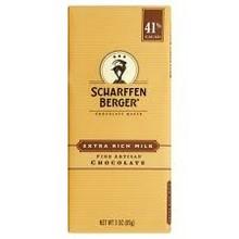 Scharffenberger Extra Rich Milk Chocolate bar - 3 Oz