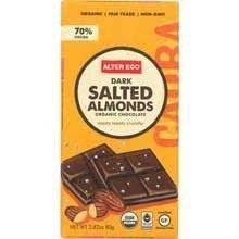 Alter Eco Dark Salted Almonds - 2.82 Oz Bar