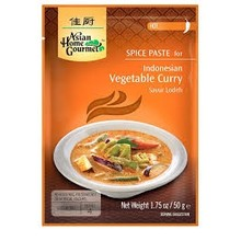 Asian Home Gourmet Indonesian Vegetable Curry - 1.75 OZ