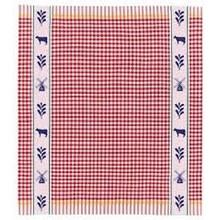 DDDDD Renesse Red Tea Towel  24x25