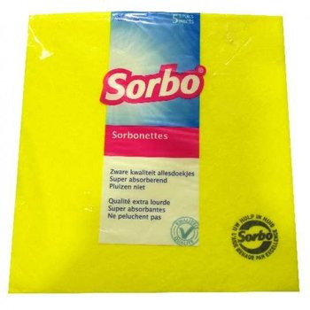 Sorbo Sorbonettes Cleaning Cloth - Pack of 5
