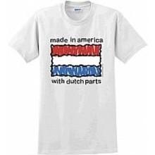 Innovative Ideas Inc Dutch Parts T-Shirt - Size Medium